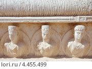 Барельеф на саркофаге, древний город Пальмира, Сирия (2008 год). Стоковое фото, фотограф Некрасов Андрей / Фотобанк Лори