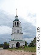 Купить «Колоцкий монастырь. Колокольня», фото № 4458235, снято 4 июня 2020 г. (c) Окапи Вячеслав / Фотобанк Лори