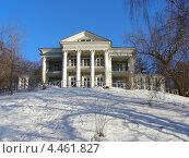 Купить «Летний дом графа Орлова, Нескучный сад, Москва», эксклюзивное фото № 4461827, снято 31 марта 2011 г. (c) lana1501 / Фотобанк Лори