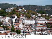 Купить «Вид на город. Таско», фото № 4476571, снято 17 декабря 2011 г. (c) Ludenya Vera / Фотобанк Лори