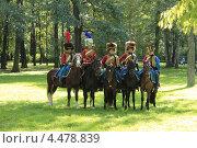 Военно-исторический фестиваль: 1812 в Санкт-Петербурге (2012 год). Редакционное фото, фотограф Андрей Кушнирук / Фотобанк Лори