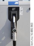 Колонка дизельного топлива. Стоковое фото, фотограф Мударисов Вадим / Фотобанк Лори