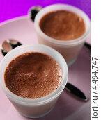 Купить «Формочки с шоколадным муссом», фото № 4494747, снято 20 февраля 2019 г. (c) Food And Drink Photos / Фотобанк Лори