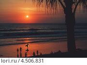 Закат на острове Бали (2011 год). Стоковое фото, фотограф Илья Смирнов / Фотобанк Лори
