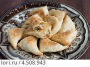 Турецкие пирожки. Стоковое фото, фотограф Лидия Шляховская (Lidia Sleahovscaia) / Фотобанк Лори