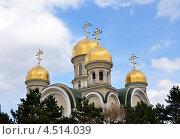 Свято Никольский собор в г. Кисловодске (2013 год). Стоковое фото, фотограф Синенко Юрий / Фотобанк Лори