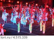 Купить «Фольклорная группа Чи-хо из Шэньси на фестивале военной музыки Спасская башня 4 сентября 2011 года в Москве, Россия», фото № 4515339, снято 4 сентября 2011 г. (c) Losevsky Pavel / Фотобанк Лори