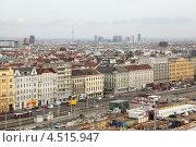 Купить «Площадь Sudtiroler Platz в центре Вены, Австрия», фото № 4515947, снято 20 февраля 2012 г. (c) Losevsky Pavel / Фотобанк Лори