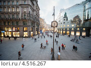 Купить «Шток-им-Айзен-Плац, Вена, Австрия», фото № 4516267, снято 21 февраля 2012 г. (c) Losevsky Pavel / Фотобанк Лори