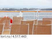 Купить «Шезлонги на палубе корабля», фото № 4517443, снято 28 июля 2011 г. (c) Losevsky Pavel / Фотобанк Лори