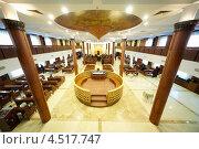 Купить «Интерьер московской синагоги Бейс Менахем», фото № 4517747, снято 27 января 2012 г. (c) Losevsky Pavel / Фотобанк Лори
