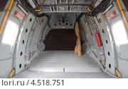 Купить «Вертолет, грузовой отсек», фото № 4518751, снято 21 мая 2011 г. (c) Losevsky Pavel / Фотобанк Лори