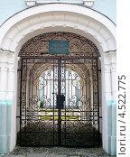 Ворота Свято-Воскресенского собора, Сумы, Украина. Стоковое фото, фотограф kraser / Фотобанк Лори