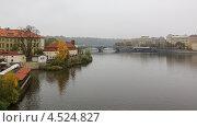Прага. Река Влтава (2012 год). Стоковое фото, фотограф Павел Спирин / Фотобанк Лори