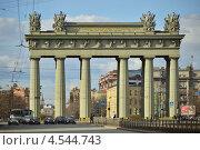Купить «Московские триумфальные ворота в Санкт-Петербурге», эксклюзивное фото № 4544743, снято 20 апреля 2013 г. (c) Александр Алексеев / Фотобанк Лори