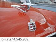 Купить «Ретроавтомобиль Dodge на ралли классических автомобилей клуба РККА на Поклонной горе, Москва», эксклюзивное фото № 4545939, снято 21 апреля 2013 г. (c) lana1501 / Фотобанк Лори