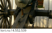 24 фунтовая гладкоствольная гаубица в музее гражданской войны в форте Вард в Александрии Virginia (2012 год). Стоковое видео, видеограф Igor Vorobyov / Фотобанк Лори