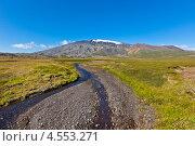 Купить «Исландский пейзаж», фото № 4553271, снято 18 августа 2012 г. (c) Анастасия Золотницкая / Фотобанк Лори