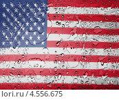 Купить «Покрытый каплями флаг Соединенных Штатов Америки», фото № 4556675, снято 20 сентября 2018 г. (c) Клинц Алексей / Фотобанк Лори