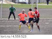 Футболисты. Игровой момент (2013 год). Редакционное фото, фотограф Дмитрий Розкин / Фотобанк Лори
