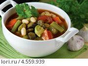 Купить «Запечённый постный суп», эксклюзивное фото № 4559939, снято 24 апреля 2013 г. (c) Александр Курлович / Фотобанк Лори