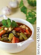 Купить «Запечённый постный суп», эксклюзивное фото № 4559943, снято 24 апреля 2013 г. (c) Александр Курлович / Фотобанк Лори