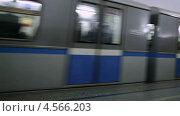 """Московское метро, станция """"Парк культуры"""" Стоковое видео, видеограф Данил Руденко / Фотобанк Лори"""