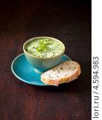 Купить «Суп овощной со сливками», фото № 4594983, снято 5 мая 2013 г. (c) Eve Voevoda / Фотобанк Лори