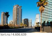Купить «Sant Marti. Вид Барселоны, Испания.», фото № 4606639, снято 9 марта 2013 г. (c) Яков Филимонов / Фотобанк Лори