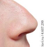 Купить «Нос крупным планом», фото № 4607299, снято 8 мая 2013 г. (c) Насыров Руслан / Фотобанк Лори