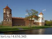 Купить «Мирский замок, Беларусь», фото № 4616343, снято 5 мая 2013 г. (c) Natalya Sidorova / Фотобанк Лори