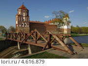 Купить «Мирский замок, Беларусь», фото № 4616879, снято 5 мая 2013 г. (c) Natalya Sidorova / Фотобанк Лори