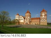 Купить «Мирской замок, Беларусь», фото № 4616883, снято 5 мая 2013 г. (c) Natalya Sidorova / Фотобанк Лори