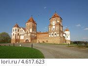 Купить «Мирский замок, Беларусь», фото № 4617623, снято 5 мая 2013 г. (c) Natalya Sidorova / Фотобанк Лори