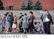 Купить «Съемки фильма на Красной площади в Москве», фото № 4621559, снято 8 июля 2012 г. (c) Stockphoto / Фотобанк Лори