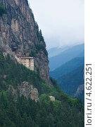 Монастырь Сумела вблизи Трабзона, Турция, фото № 4622251, снято 15 августа 2008 г. (c) Stockphoto / Фотобанк Лори