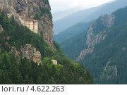 Монастырь Сумела вблизи Трабзона, Турция, фото № 4622263, снято 15 августа 2008 г. (c) Stockphoto / Фотобанк Лори