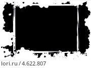 Абстрактная черная рамка на белом фоне. Стоковая иллюстрация, иллюстратор Felix Bensman / Фотобанк Лори
