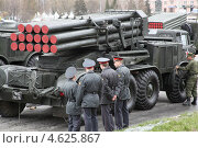 Военная техника на параде (2013 год). Редакционное фото, фотограф Андрей Спицын / Фотобанк Лори
