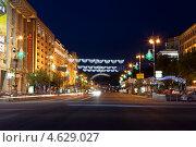Купить «Ночной Киев», фото № 4629027, снято 4 мая 2013 г. (c) Наталья Волкова / Фотобанк Лори