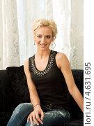 Купить «Ольга Бузова», фото № 4631695, снято 26 апреля 2013 г. (c) Jan Jack Russo Media / Фотобанк Лори
