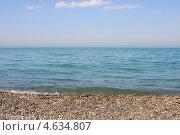 Купить «Берег Черного моря», эксклюзивное фото № 4634807, снято 4 мая 2013 г. (c) Юрий Морозов / Фотобанк Лори