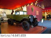 Купить «Автомобиль ГАЗ-ААА в автомобильном музее в Нижнем Новгороде. Россия», фото № 4641659, снято 26 марта 2013 г. (c) Владимир Артев / Фотобанк Лори