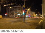 Ночные улицы Гомеля (2013 год). Редакционное фото, фотограф Елена Григорьева / Фотобанк Лори