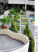 Купить «Внутренний дворик аэропорта Сочи», эксклюзивное фото № 4650727, снято 6 мая 2013 г. (c) Юрий Морозов / Фотобанк Лори