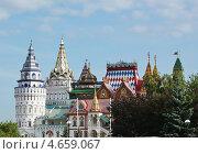 Измайловский Кремль в Москве, Россия (2011 год). Редакционное фото, фотограф Владимир Приземлин / Фотобанк Лори