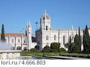 Лиссабон, Португалия. Монастырь иеронимитов Жеронимуш (2010 год). Стоковое фото, фотограф Калюжная Вера / Фотобанк Лори