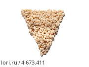 Треугольник из кедровых орехов. Стоковое фото, фотограф Виктория Козикова / Фотобанк Лори