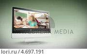 Купить «Videos of a school class», видеоролик № 4697191, снято 22 июля 2019 г. (c) Wavebreak Media / Фотобанк Лори