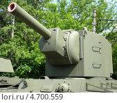 Купить «Башня советского тяжелого танка КВ-2», фото № 4700559, снято 31 мая 2013 г. (c) Данила Васильев / Фотобанк Лори